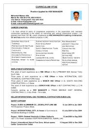 Senior Project Manager Resume Sample by Mansur Hse Manager Cv