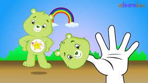 finger family rhymes care bears cartoon children nursery rhymes