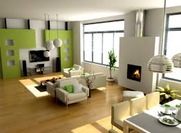 living room with fireplace and tv on opposite walls