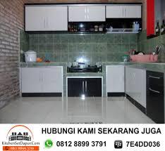 Kitchen Set Aluminium Pembuatan Kitchen Set Aluminium Di Sentul Bogor 0812 8899 3791