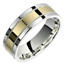 wedding bands for him and 10k yellow gold ring 925 sterling silver wide promise wedding