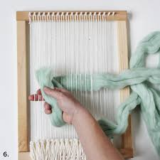 Thick Wall Tapestry Weaving With Wool Roving U2013 A Beautiful Mess