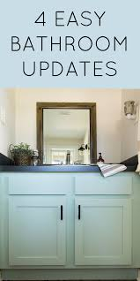 bathroom updates ideas 4 easy powder room updates the inspired hive