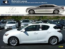 lexus ct hybrid white lexus ct 200h japan exterior color options lexus ct 200h color