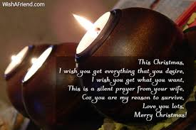 this christmas i wish you get christmas message for husband
