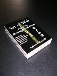 art of war sun tzu strategy card deck