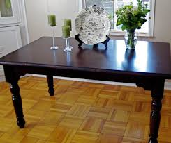 Pottery Barn Dining Room Set by Little And Lovely Diy Refinishing The Dining Room Table