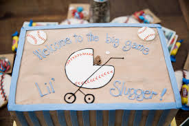 Baseball Baby Shower Cake - mrs small u0026 co a vintage baseball themed baby shower