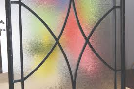 stained glass for front door wrought iron and glass front entry door designs zabitat blog