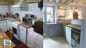 cuisine maison a vendre cuisine rustique repeinte en gris maison design bahbe com
