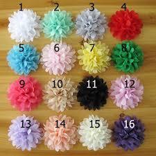 flowers for headbands wholesale newborn fabric flowers for headbands handmade children