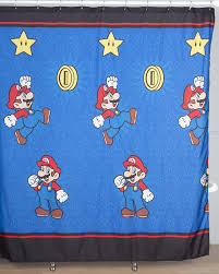 Childrens Shower Curtains by Amazon Com Nintendo