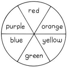 color wheel chart have students make and label color wheels by