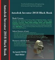 autodesk inventor 2018 black book ebook by gaurav verma
