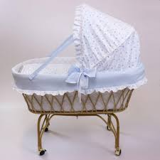 materasso culla vimini culle in vimini con materassino cuscino carrello e telaio babysanity