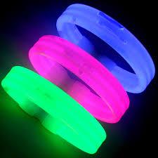glow bracelets glowing wristband bracelets with custom printing nitepromos
