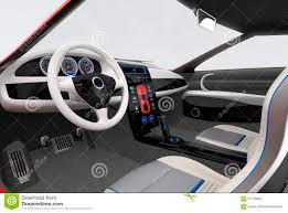 futuristic cars interior futuristic electric vehicle dashboard and interior design stock