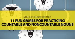 Countable And Uncountable Nouns Teaching Can Count On Me 11 For Practicing Countable And