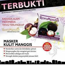 Masker Kulit Manggis Roro Mendut jual masker kulit manggis roro mendut original only shop