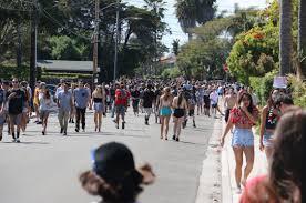 42 spring break revelers arrested during street party in