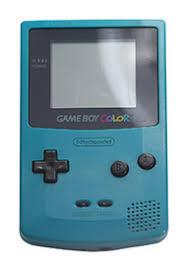 Nintendo Game Boy Color Teal For Game Boy Gamestop Gameboy Color