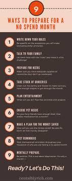 25 unique no spend challenge ideas on money saving