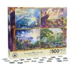 disney classics puzzle set by kinkade shopdisney