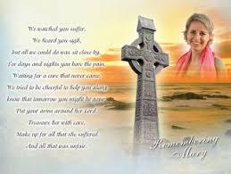memorial cards memorial cards ireland