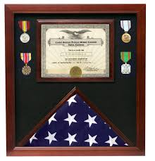 Triangle Flag Case Veterans Made Flag Document Case For American Flags