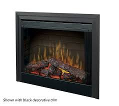 dimplex 33 in led built in electric fireplace insert