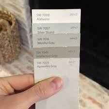 paint colors mindfully gray