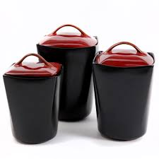 black kitchen canisters black kitchen canister sets decorating clear