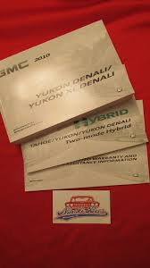 new 2010 gmc yukon denali hybrid owners manual 10 u2022 24 96 picclick