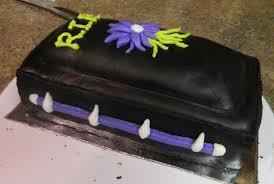 Halloween Decorations Coffin Blogger Traci Lebrun Halloween Coffin Cake