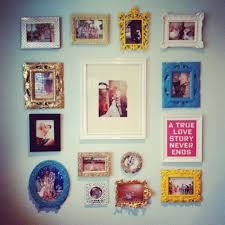 Picture Wall Collage by Photograph Wall Collage House To Home Blog