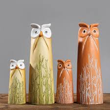 1pc nordic style owl furnishing articles creative gifts