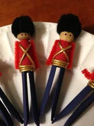 clothespin soldier ornaments and other trash to treasures