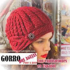 modelos modernos para gorras tejidas con 459 best punto a dos agujas gorros images on pinterest knit hats