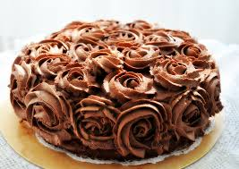everybody eats well in flanders chocolate rose cake with black