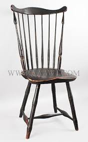 fan back windsor armchair antique furniture chairs early pilgrim american