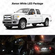 Ford F250 Interior 16x White Led Interior Bulbs License Plate Lights For 1999 2016