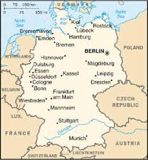 map of germany cities frog end cities of germany