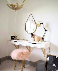 Small Makeup Desk Vanity Ideas For Small Bedrooms Blastbox Co
