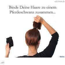 Frisuren Duttkissen Anleitung by Hair Tutorial Der Socken Dutt Tutorial Hair