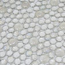aliexpress com buy transparent white glass mosaic