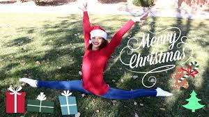 happy holidays christmas gymnastics youtube