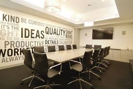 Cool Meeting Table Modern Conference Room Boardroom Design Business Decor