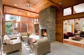 Sunroom Extension Ideas Designs Ideas Stylish Contemporary Sunroom With Wicker Modern