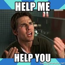 help me help you jerry maguire meme generator