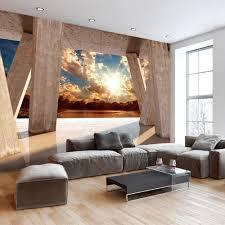 Wohnzimmer Deko Natur 3d Fototapete Natur Ansprechend On Moderne Deko Idee Mit